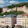 Royalty-Free Stock Photo: Panorama city center in Karlovy Vary
