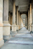 Baroque colonnade — Stock Photo