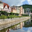 Stock Photo: City center in Karlovy Vary. Czech Republic