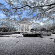 Botanic gardens Bandstand — Stock Photo