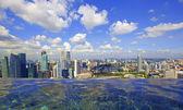 Singapur skyline — Stockfoto