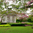 Botanic gardens Bandstand - Stock Photo