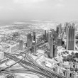 Dubai panorama view — Stock Photo