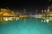 Dubai by night — Stock Photo