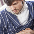 Stockfoto: Stomach pain