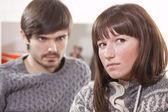 Couple frustré — Photo