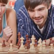 Playing chess game — Stock Photo #4562246