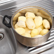 Stock Photo: Refined potatoes