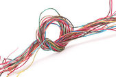 Wire knot — Stock Photo