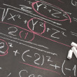 Mathematical equation - Stock Photo