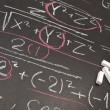 Mathematical equation — Stock Photo #4260336