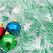 Christmas baubles — Stockfoto #4410981