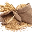 Sacks of wheat grains — Stock Photo #4411047