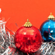 Christmas baubles — Stock Photo #4411145