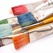 Stock Photo: Paint brushes