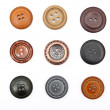 Buttons set - Stock Photo