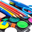 Stock Photo: School tools