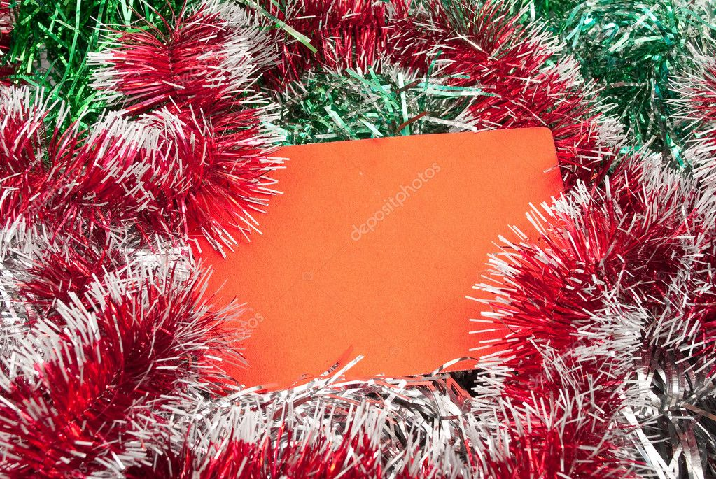 Blank christmas greeting card   Stock Photo #4666871