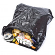 Black rubbish bag — Stock Photo #5352655