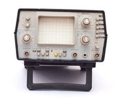 Old oscilloscope — Stock Photo