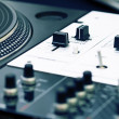 Turntable and mixing controller — Stock Photo