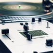 Turntable and mixing controller — Stock Photo #3934885