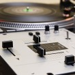 Turntable and mixing controller — Stock Photo #3935200