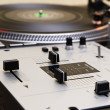Stock Photo: Turntable and mixing controller