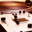 Turntable and mixing controller — Stock Photo #4061859