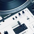 Turntable and mixing controller — Stock Photo #4061861