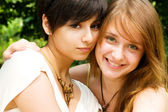Sorridentes jovens — Foto Stock