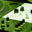 Turntable and mixing controller — Stock Photo #4325077