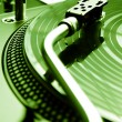 Needle on vinyl record — Stock Photo #4351579