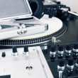 Stock Photo: Professional equipment of a DJ
