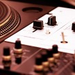 Turntable and mixing controller — Stock Photo #4723879