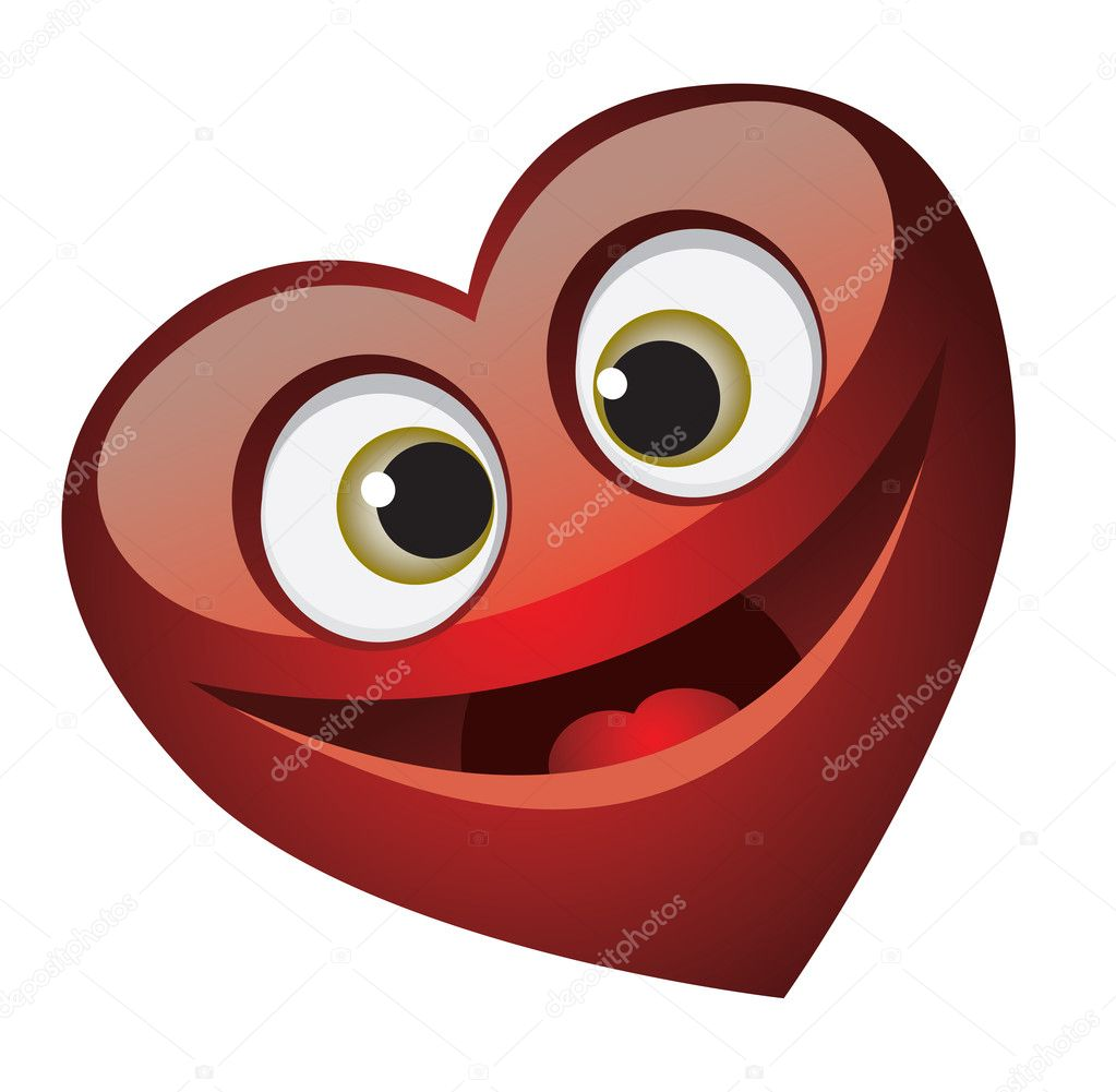 Heart for Valentine's Day. Vector — Stock Vector #4685326