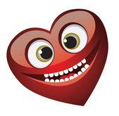Smile heart — Stock Vector