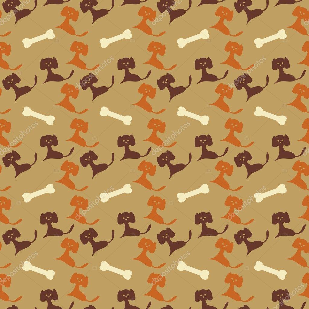 Brown dog bone background - photo#18