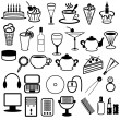 Set with different objects — Stock Vector