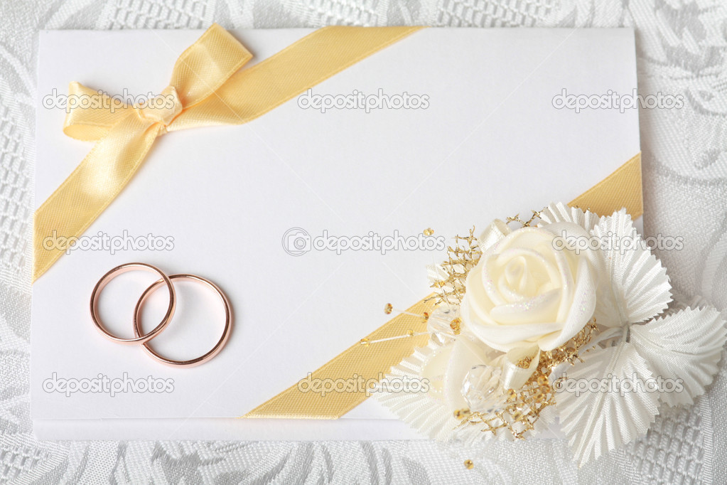 wedding invitation card — stock photo #4295820, Wedding invitations