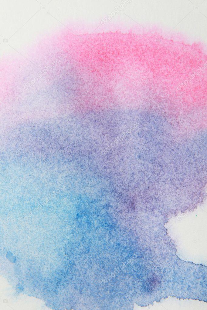 抽象水彩手绘背景— 照片作者