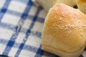 自家製のパンのバンズ — ストック写真