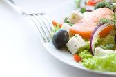 Sana insalata greca — Foto Stock