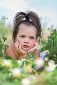 Child girl — Stockfoto