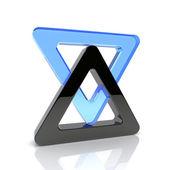 Trianglar — Stockfoto