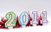Feliz ano novo 2011 — Fotografia Stock
