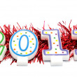 Happy New Year 2011 — Stockfoto