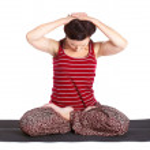 Yoga excercising — Stock Photo #5235305