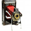 Antique photo camera — Stock fotografie