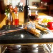 Food on table - Stockfoto